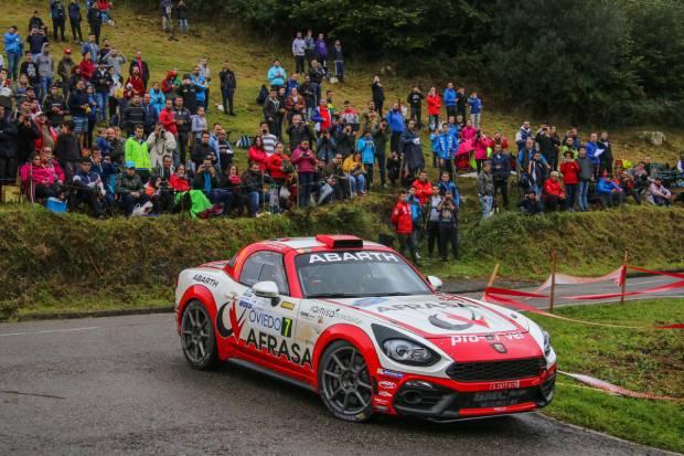 Rally de Madrid: el equipo Abarth a por el título en dos ruedas motrices
