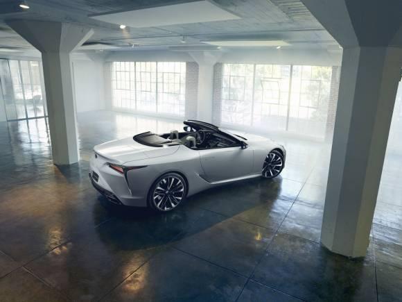 Prototipo Lexus LC Descapotable