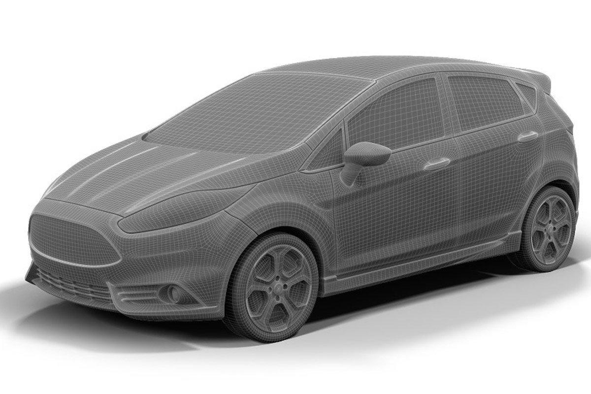 Los Coches De Ford Para Impresoras 3d