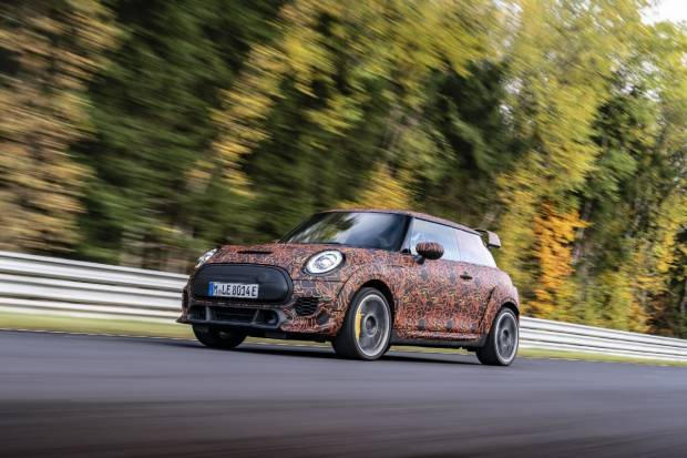 Mini ya está desarrollando deportivos eléctricos bajo el sello John Cooper Works
