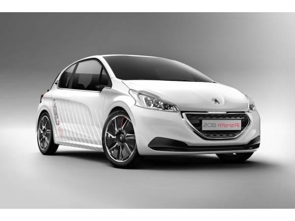 Peugeot 208 HYbrid FE, altas prestaciones y bajas emisiones