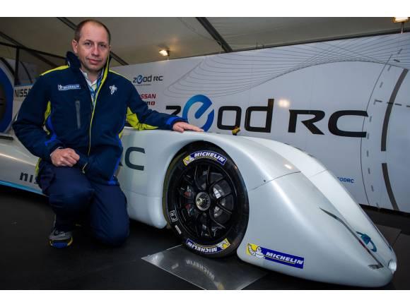 Michelin desarrolla los neumáticos el Nissan ZEOD RC