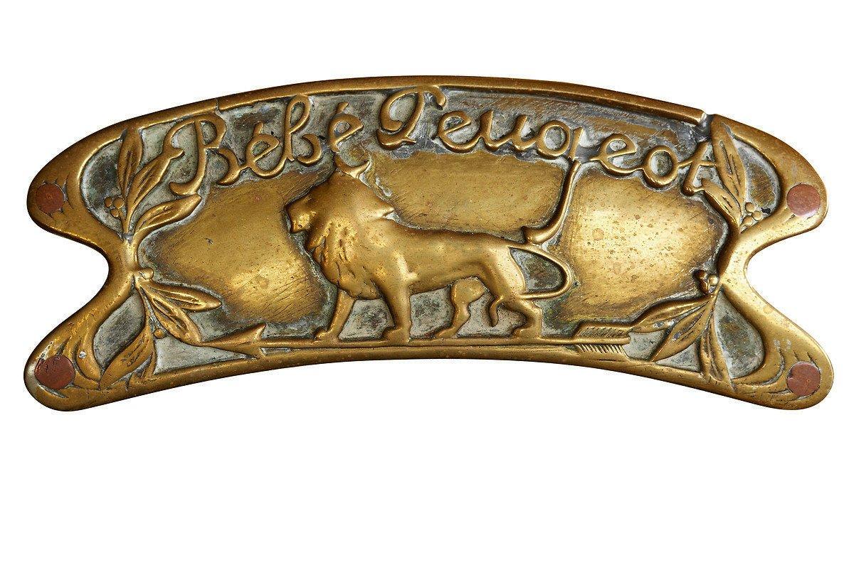 El león de Peugeot