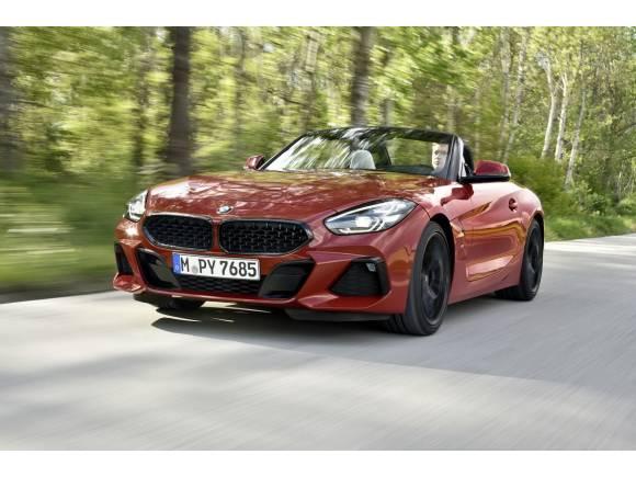 El nuevo BMW Z4 añade el cambio manual a su gama