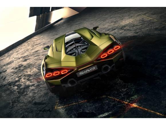 Lamborghini Sián: el primer híbrido ligero de la marca