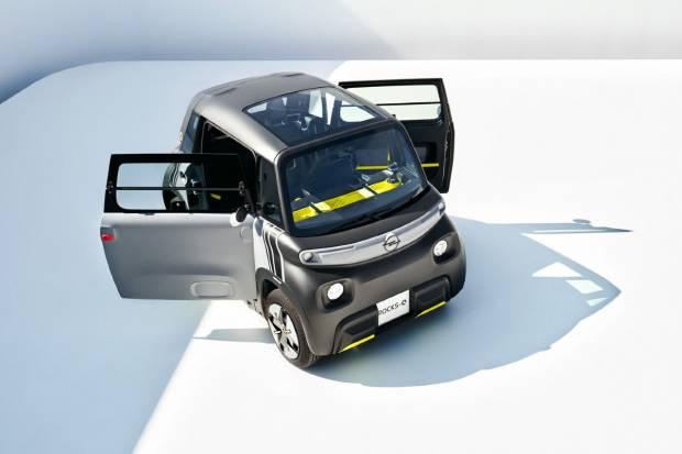 Opel Rocks-e: una reinterpretación deportiva del Citroën Ami
