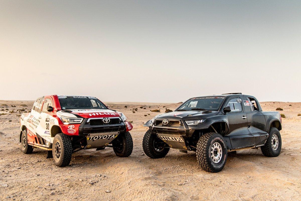 Toyota GR DKR Hilux
