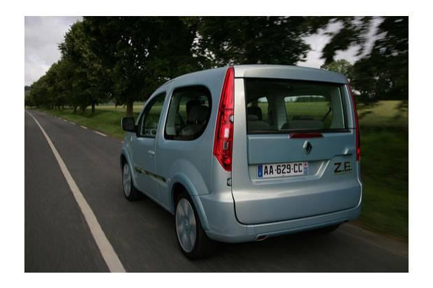 Renault Kangoo Z.E.: Coche eléctrico para ocio y negocio