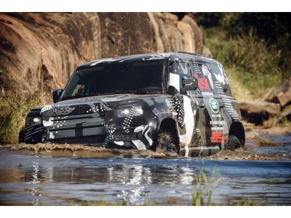 Land Rover Defender: vehículo oficial de Tusk Trust en África