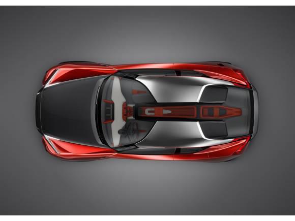 Nissan Gripz Concept: un híbrido extremo para Frankfurt