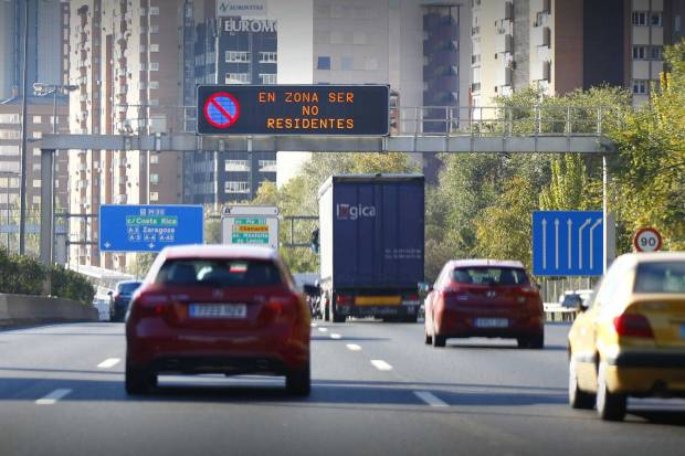 Madrid sigue adelante con el Plan A de Calidad del Aire
