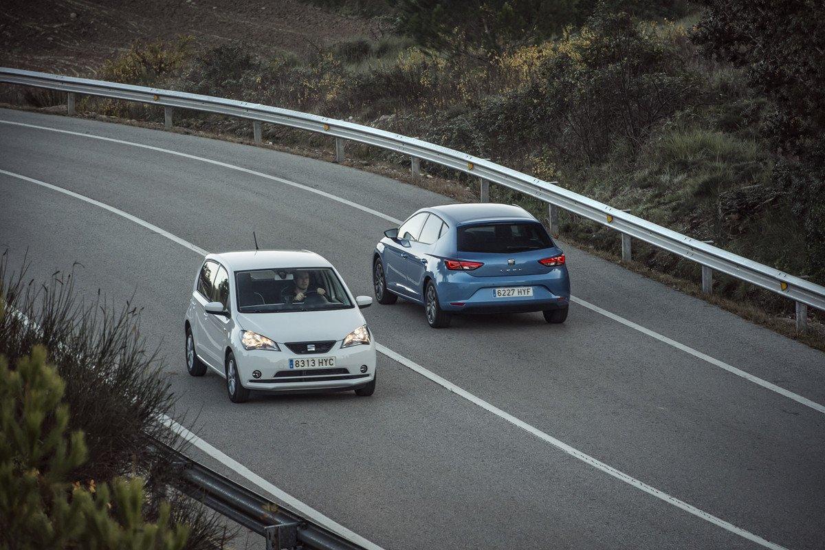 Prueba Seat Mii Ecofuel y Seat León TGI