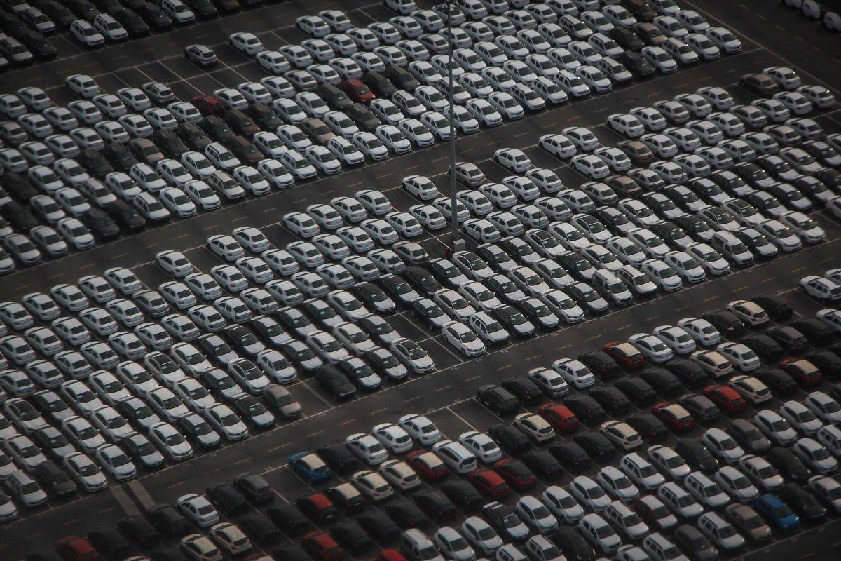 coche exportacion baja