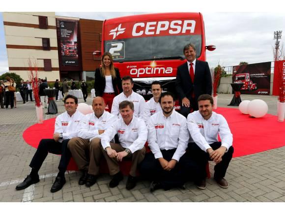 Antonio Albacete, de estreno con el CEPSA Truck Team