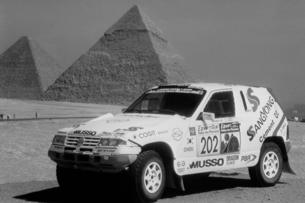 SsangYong Musso Rally Raid