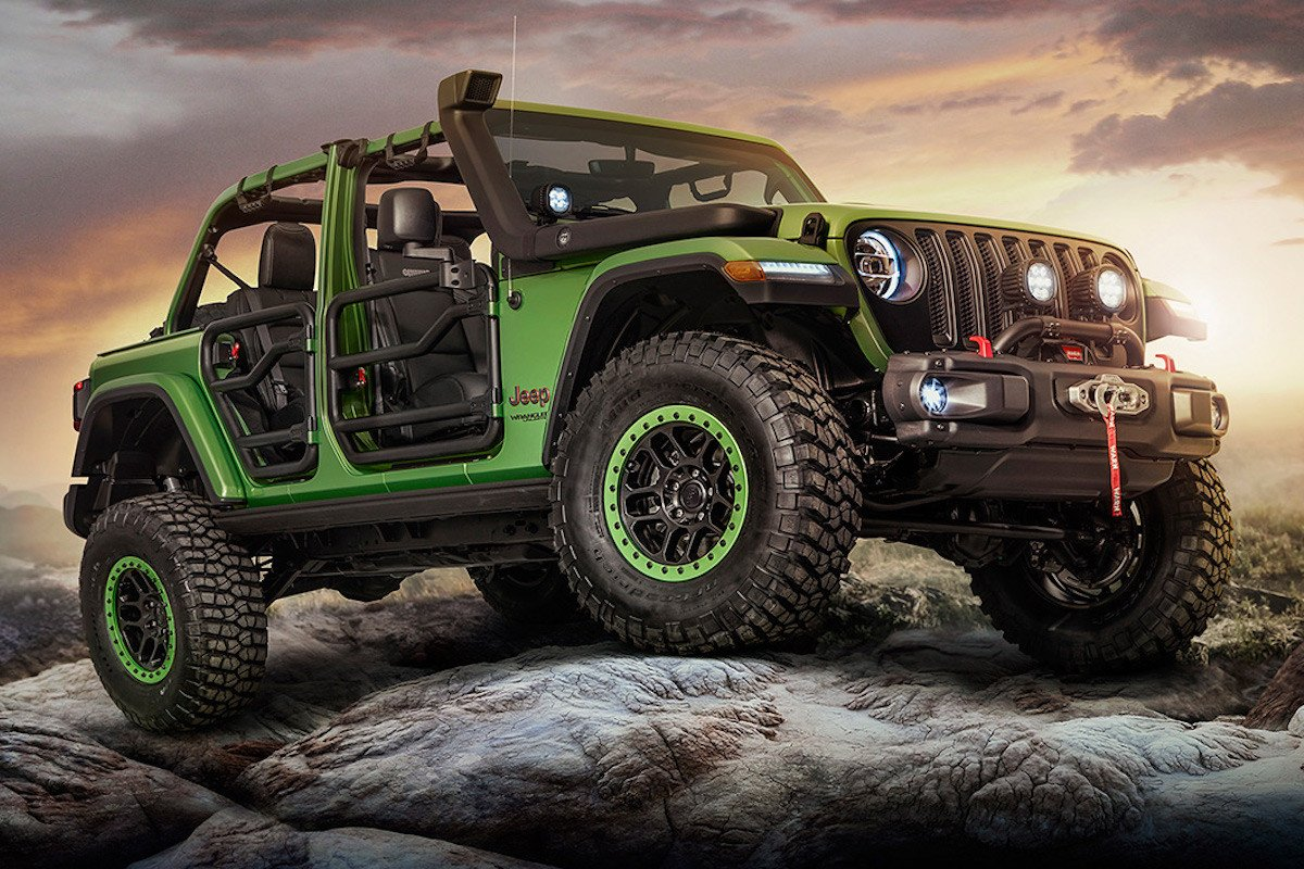 Nuevo Jeep Wrangler 2018, primeras preparaciones Mopar