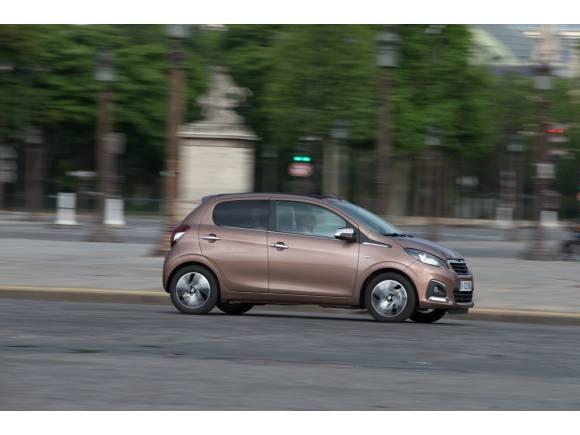 Prueba del nuevo Peugeot 108: urbanita elegante, dinámico y eficiente