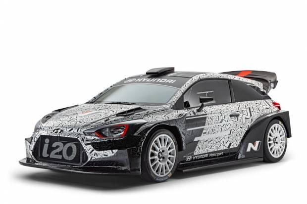 Nuevo Hyundai i20 WRC: así luce el futuro coche de Dani Sordo