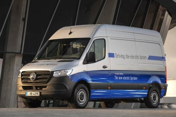 Mercedes eSprinter: ya disponible la furgoneta eléctrica con estrella