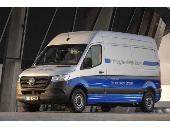Mercedes eSprinter: ya disponible la furgoneta eléctrica con estrella