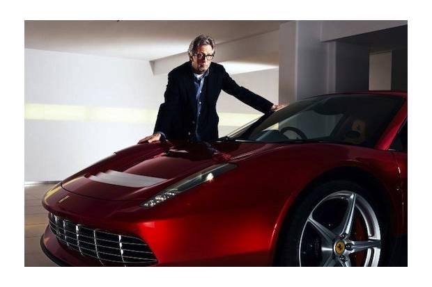 Un Ferrari exclusivo para Eric Clapton