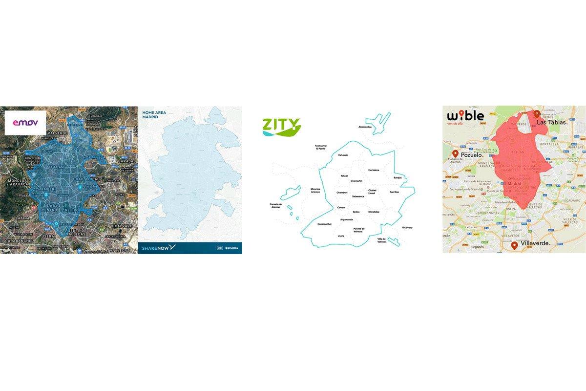 mapas carsharing madrid
