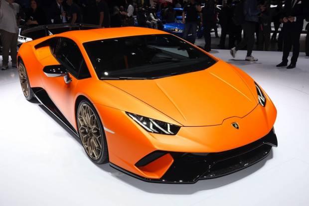 Lamborghini Huracán Performante de 640 CV y aerodinámica activa