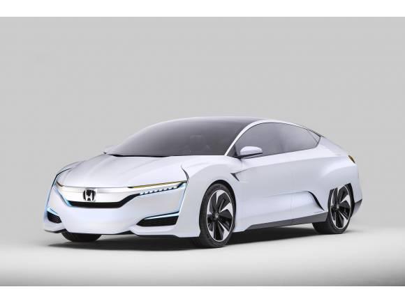 Honda FCV Concept: el coche de hidrógeno de Honda para 2016