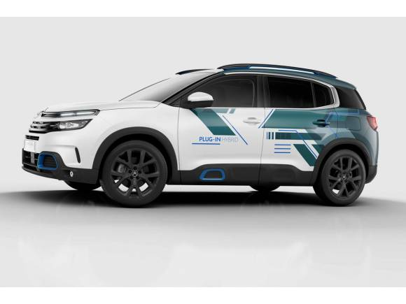 Llega el C5 Aircross Hybrid Concept, el primer híbrido enchufable de Citroën