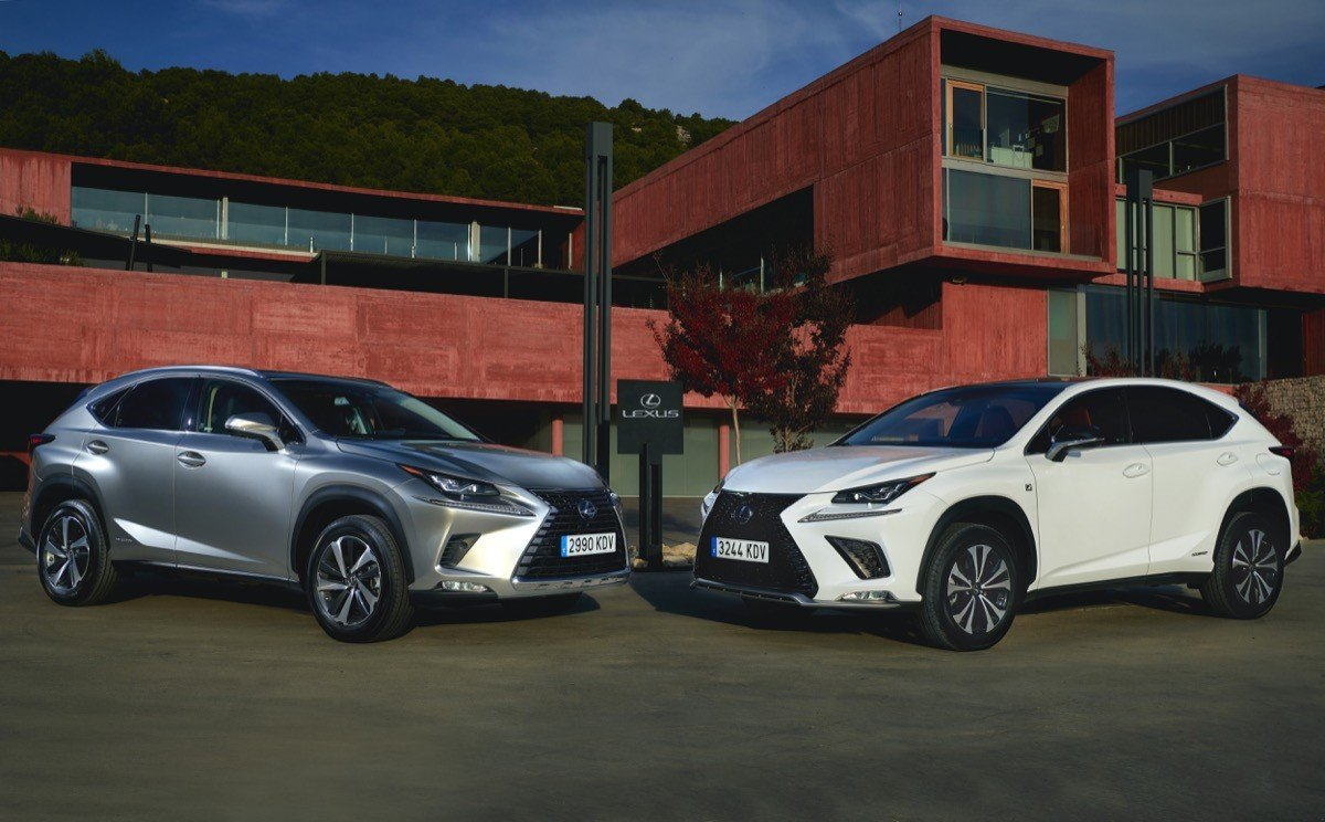 prueba lexus nx 300h 2018 un suv h brido premium desde euros. Black Bedroom Furniture Sets. Home Design Ideas