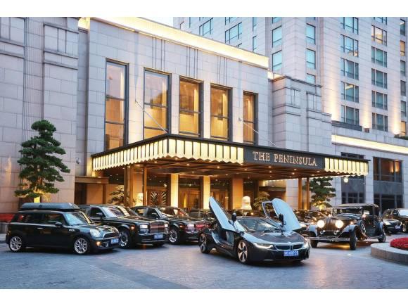 El BMW i8 en la flota del hotel The Peninsula
