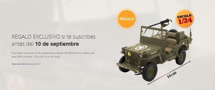 coches militares de la Segunda Guerra Mundial altaya
