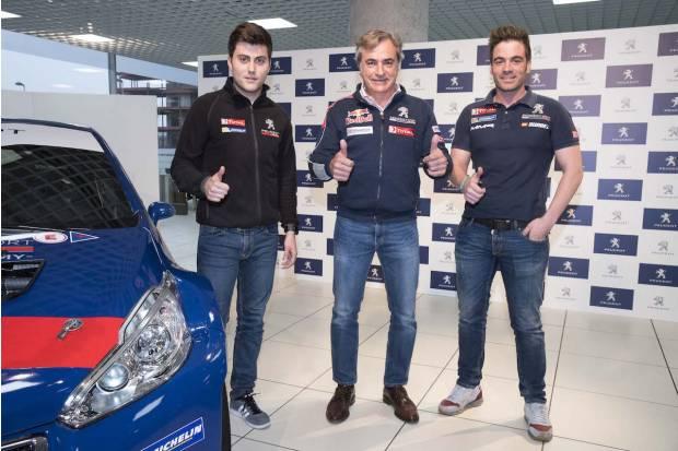 Peugeot España competirá en el europeo de rallyes ERC