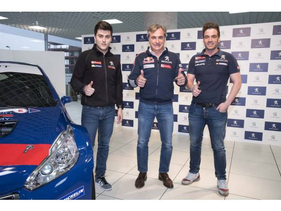Peugeot carlos sainz