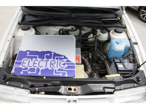 El primer coche eléctrico de Seat tiene 28 años y se utilizó en los JJ.OO. de Barcelona