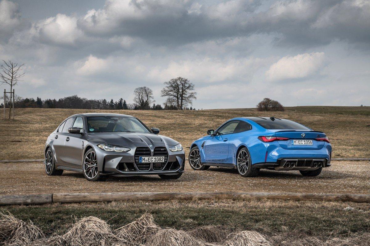 BMW M3 Competition y BMW M4 Competition Coupé