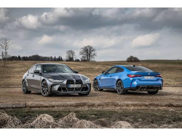 Los BMW M3 Competition y BMW M4 Competition Coupé, ahora con tracción M xDrive
