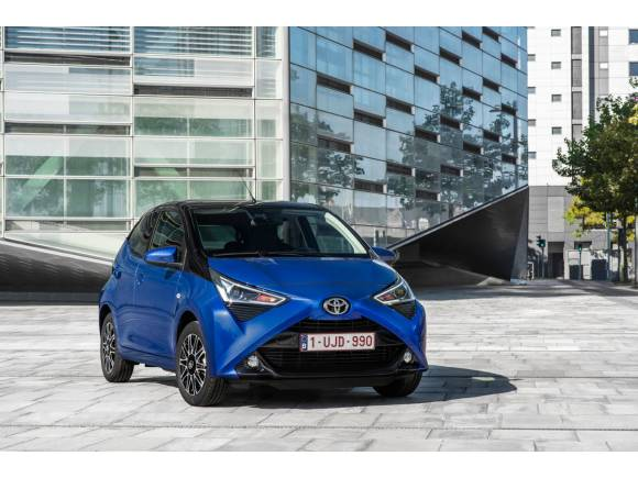 Toyota lanza la edición especial x-clusiv para el Aygo