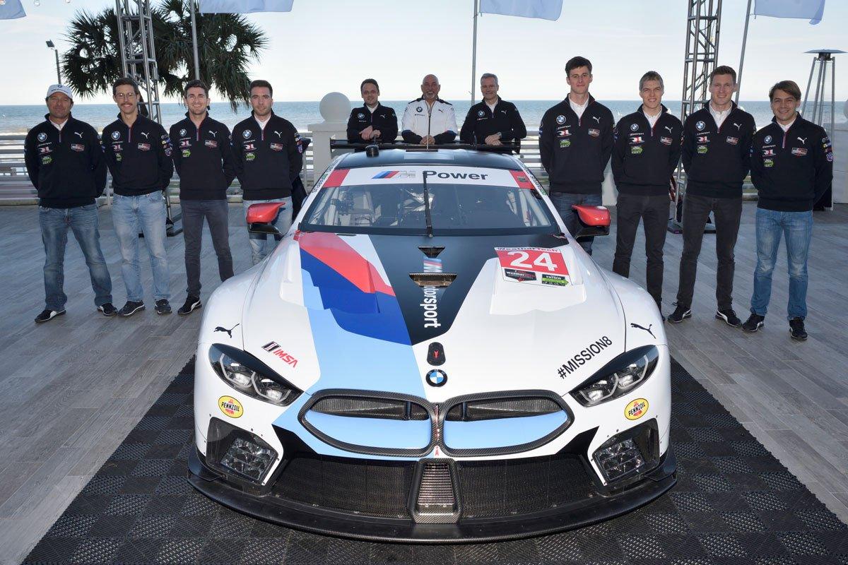 BMW Serie M8 GTE