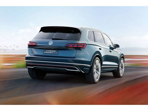 Volkswagen T-Prime Concept GTE, continuando la ofensiva híbrida