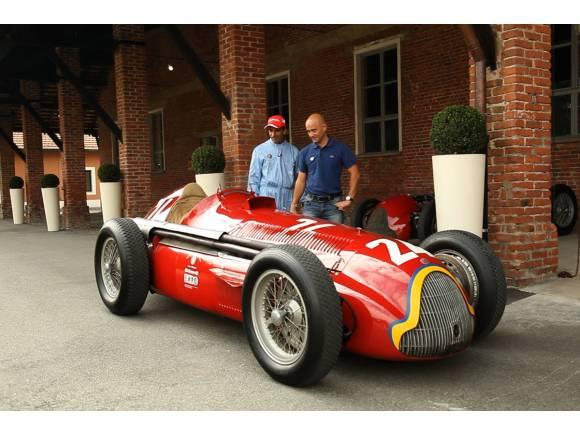 Video: Marc Gené pilota al Alfa Romeo con el que fue campeón Fangio en 1952