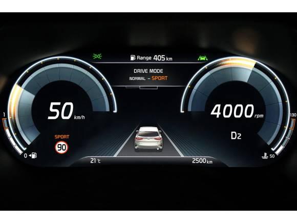Nueva instrumentación digital para el XCeed, el nuevo crossover de Kia