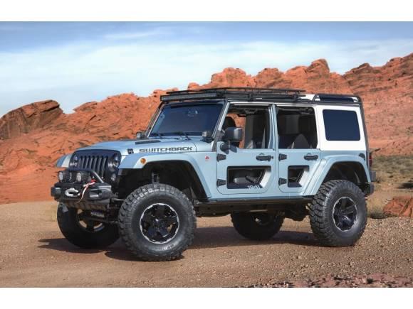 Los extremos Jeep del Moab Easter Jeep Safari de 2017