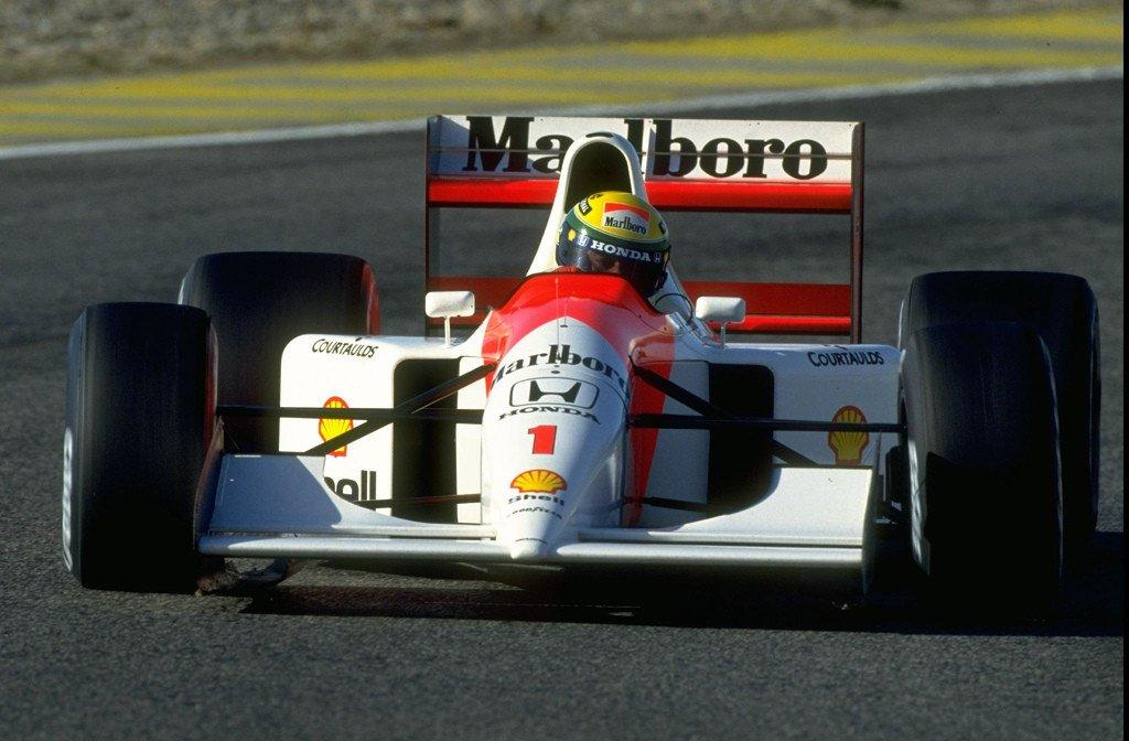 F1 wallpaper senna 11
