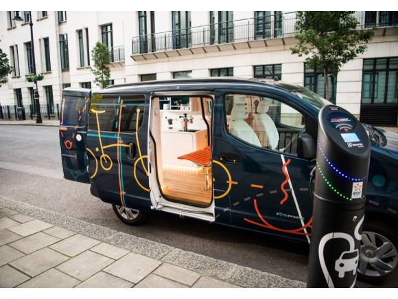 Nissan e-NV200 WORKSPACe: la primera oficina móvil eléctrica
