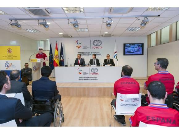 Toyota España, patrocinador oficial del Comité Paralímpico Español