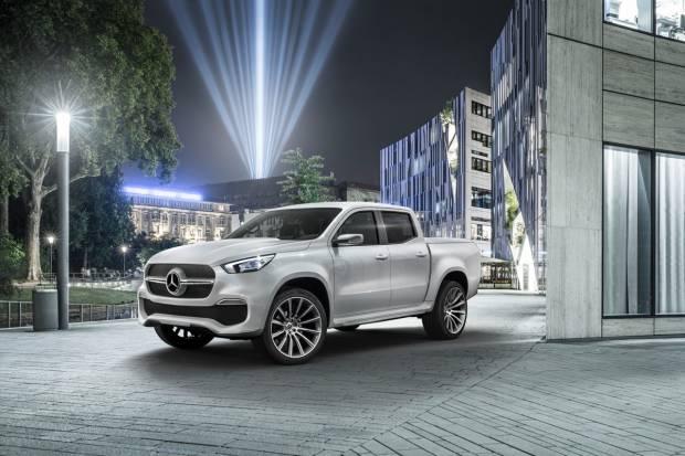 Clase X Concept, Mercedes ya tiene su primera pick-up