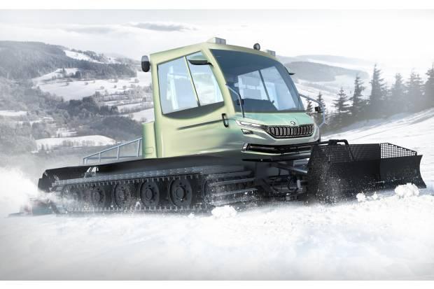 Skoda Snowman: este no es el SUV que esperabas