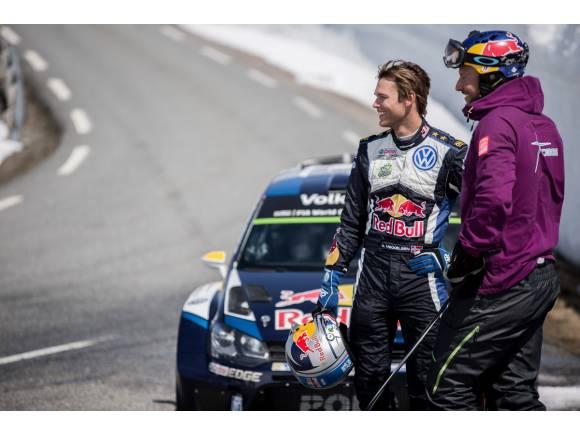 Video: Mikkelsen reta a Svindal bajando un fiordo