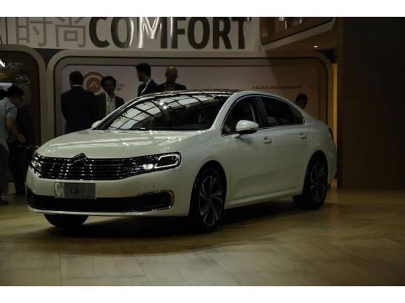 Citroën presenta un C-Elysée eléctrico en el Salón de Pekín